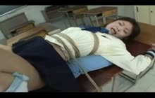 Japanese Cutie Tied And Analed
