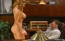 Big tit babe Alexandra Quinn gets banged in the office
