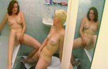 Amateur lesbian babes have fun