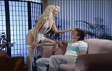 Sexy blonde Britt Morgan gets screwed by Peter North