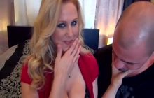 Nice guy shares his hot wife Julia