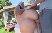 Smoking hot PAWG Anikka Albrite anal