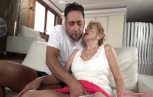 Cock loving granny loves a big cock in her pussy