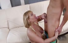Banging my best friend's hot mom Mellanie Monroe