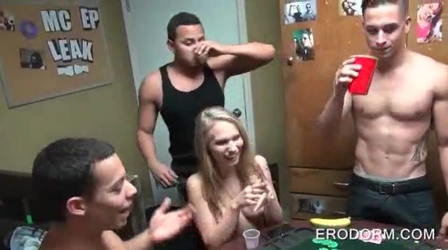 Real College Dorm Party