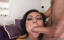 Gorgeous brunette Lela Star gets fucked by a big dick