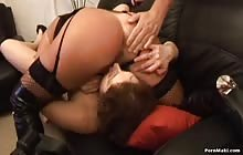 Amateur House Party scene 02 with Simi and Lyla Lei