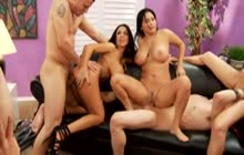Super hot Sienna West orgy fuck