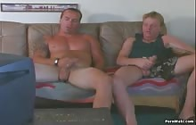 Two hot guys jerking their gay dicks with Joe Erikson