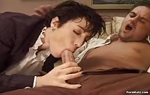 Brunette MILF Sheila Kiss gets screwed in the butt with Robert Ribot
