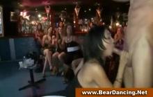 CFNM blowjob at bachelorette party