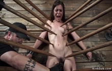 Slut tormented in Vampire trap