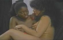 Ebony Ayes, King Savage and Peter North interracial 3way video