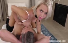 Blonde Bimbo Fucked Rough